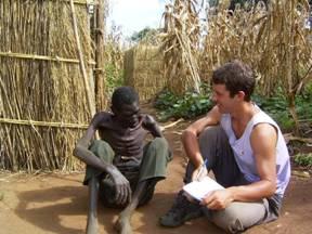 Con Daniel Kaboko en Malawi